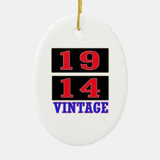 1914 Vintage Ornaments