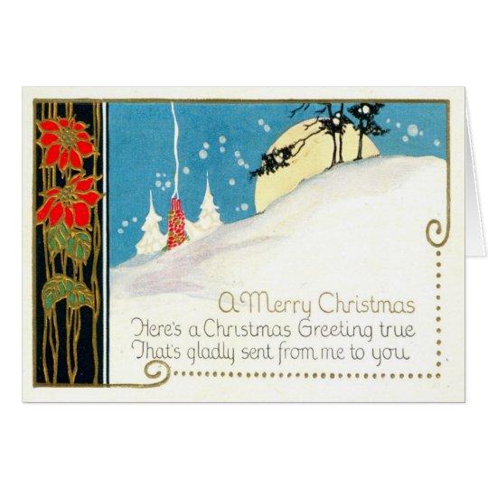 1915 A Christmas Greeting True! Card