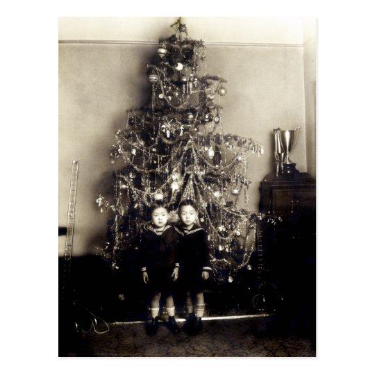1915 Asian American Christmas Postcard