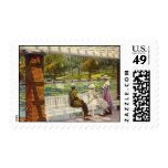 1915 charca del lirio, parque de la ciudad, Denver