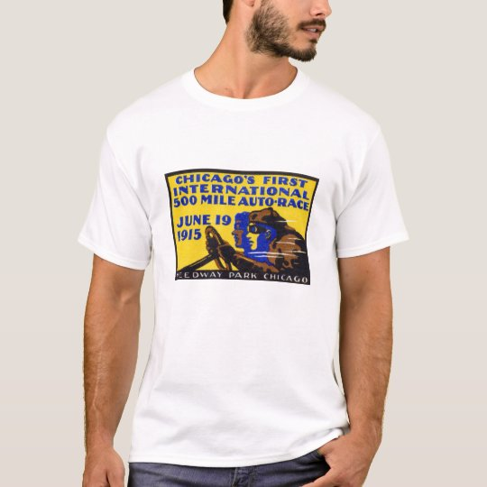1915 Chicago Auto Racing Poster T-Shirt
