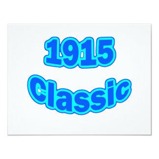 1915 Classic Blue Card