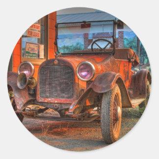 1915 DODGE #2 PEGATINAS REDONDAS