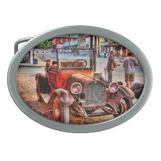 1915 DODGE #3 OVAL BELT BUCKLE