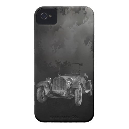 1915 DODGE (B&W) iPhone 4 Case-Mate PROTECTORES