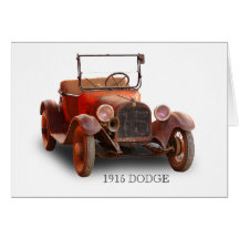 1915 DODGE GREETING CARDS