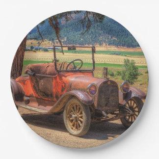 1915 DODGE PLATOS DE PAPEL