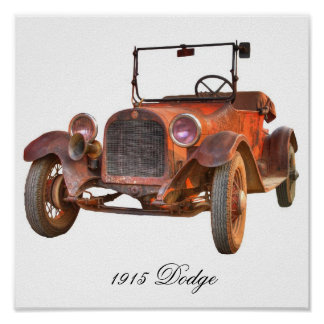 1915 DODGE PÓSTER