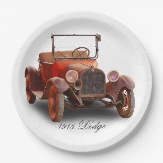 1915 DODGE 9 INCH PAPER PLATE