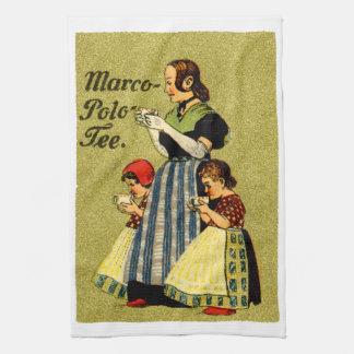 1915 Enjoy Marco Polo Tea Hand Towels