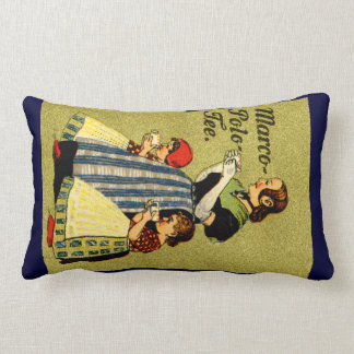 1915 Enjoy Marco Polo Tea Throw Pillow