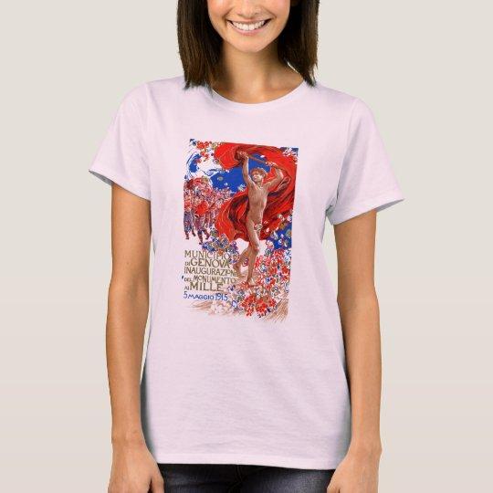 1915  Garibaldi Victory Poster T-Shirt