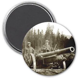 1915 German Artillery 3 Inch Round Magnet