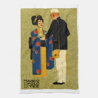 1915 Marco Polo Tea Hand Towel