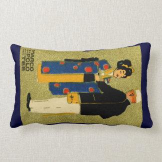 1915 Marco Polo Tea Throw Pillow
