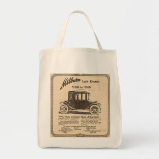 1915 Milburn Electric auto vintage ad Tote Bag