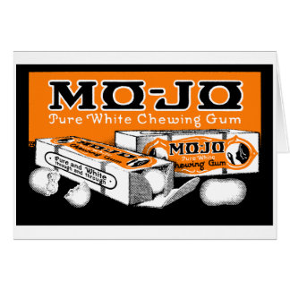 1915 Mo-Jo Chewing Gum Card