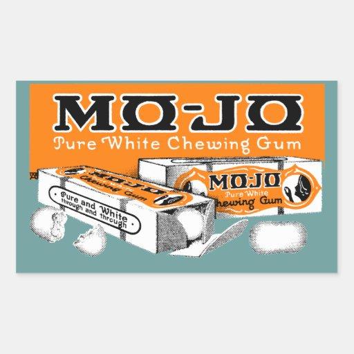 1915 Mo-Jo Chewing Gum Sticker