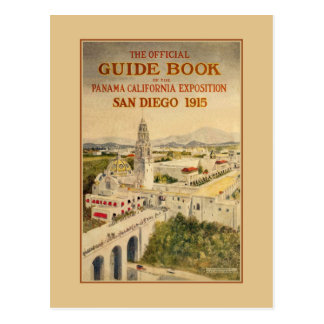 1915 Panama–California Exposition Postcard