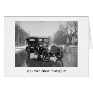 1915 Pierce Arrow Card