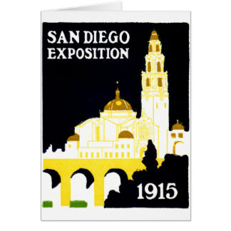 1915 San Diego Exposition Greeting Card
