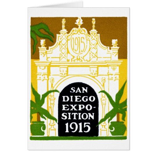 1915 San Diego Exposition Card