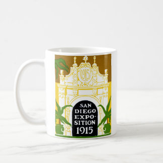 1915 San Diego Exposition Coffee Mugs