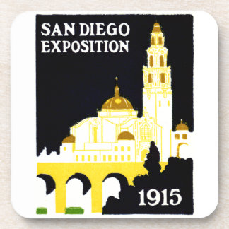 1915 San Diego Exposition Beverage Coasters