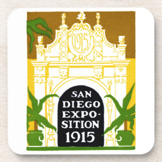 1915 San Diego Exposition Beverage Coaster