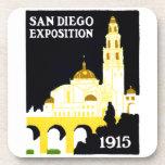 1915 San Diego Exposition Drink Coaster