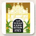 1915 San Diego Exposition Drink Coasters