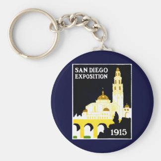 1915 San Diego Exposition Keychain