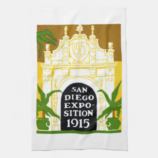 1915 San Diego Exposition Kitchen Towel