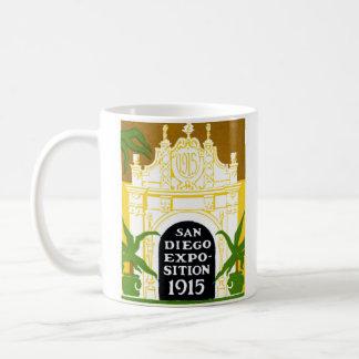 1915 San Diego Exposition Classic White Coffee Mug