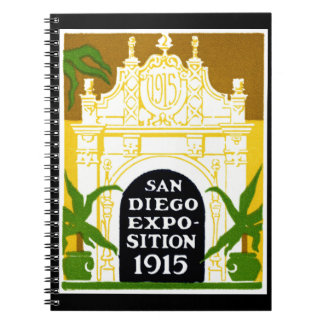 1915 San Diego Exposition Note Book