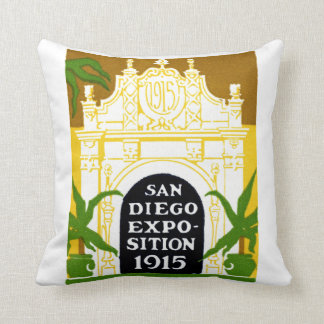 1915 San Diego Exposition Pillows