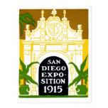 1915 San Diego Exposition Postcard