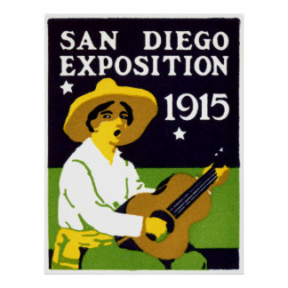 1915 San Diego Exposition Poster