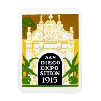 1915 San Diego Exposition Rectangular Photo Magnet