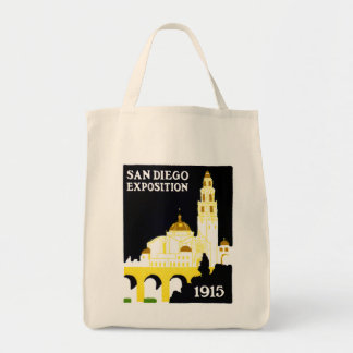 1915 San Diego Exposition Tote Bags