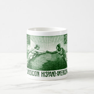 1915 Spanish American expo Poster Mugs