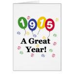 1915 un cumpleaños del gran año tarjetón
