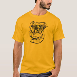 1915 V-twin vintage motorcycle t-shirt