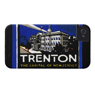 1915 Vintage Trenton NJ iPhone 4 Cases