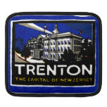1915 Vintage Trenton NJ iPad Sleeve