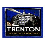 1915 Vintage Trenton NJ Post Card