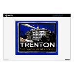"1915 Vintage Trenton NJ Skins For 12"" Laptops"