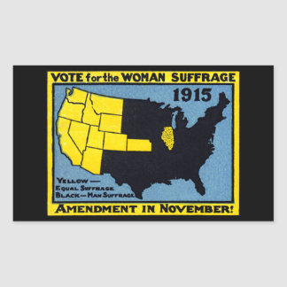 1915 Vote for Womans Suffrage Stickers
