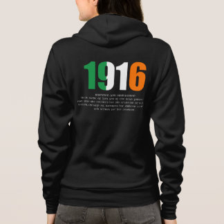 1916 Easter Rising and Proclamation Commemoration Hoodie