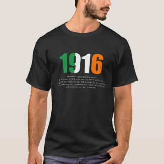 1916 Easter Rising and Proclamation Commemoration T-Shirt